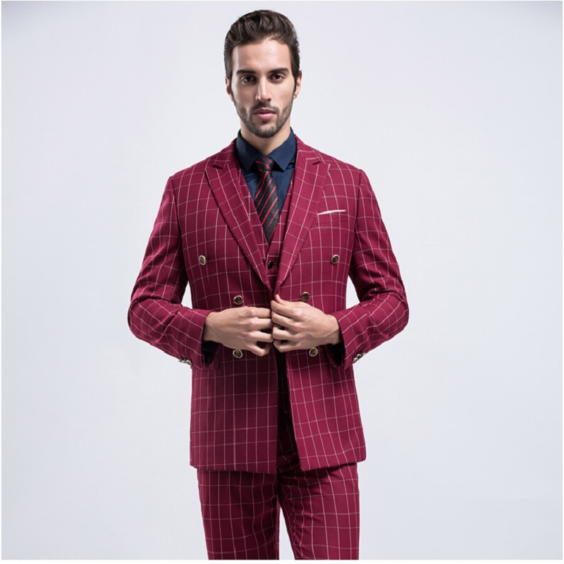 Popular 3 Piece Fitted Suit-Buy Cheap 3 Piece Fitted Suit lots ...