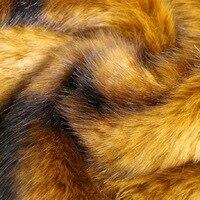 100 см * 160 см супер thickShaggyFaux ткани меха Длинный Ворс Меха костюмы ремесел DIY Имитация норки вязать ткань искусственные ткани