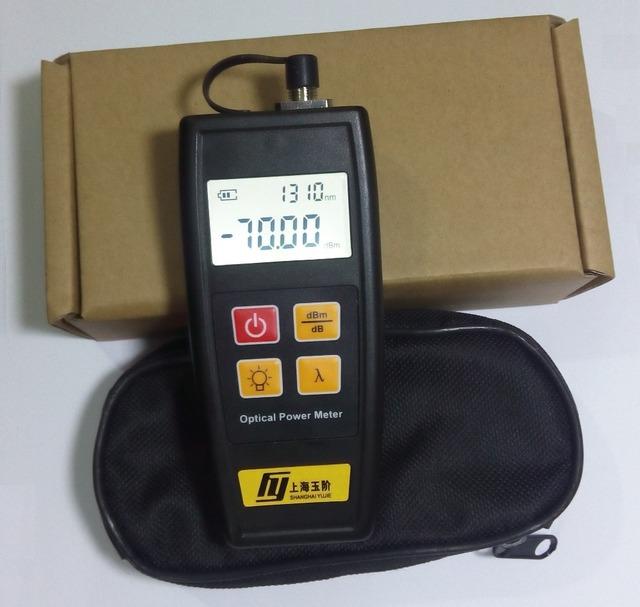Telecomunicações-70 ~ + 6dBm YJ-350A Handheld Mini Medidor De Energia De Fibra Óptica