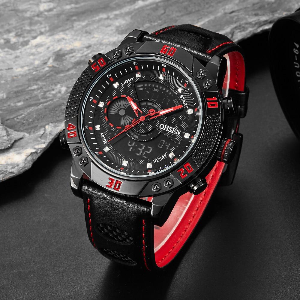 Top Sale Original OHSEN Digital Analog Men's Watch