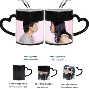 DIY Photo Magic Color Changing Mug Can be customized cup pattern,custom your photo on Tea cup,Coffee Cup best gift for friends