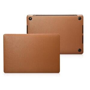 Чехол из натуральной кожи для Macbook Pro 13 A2159 A1706 A1708 A1989 чехол из воловьей кожи для ноутбука Macbook Pro 15 A1707 A1990