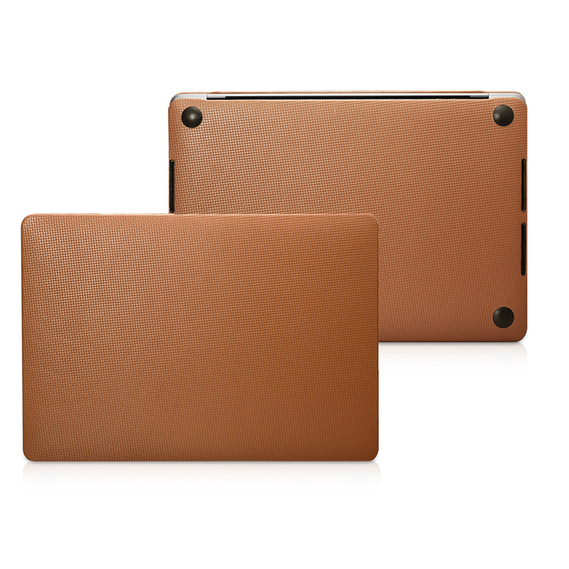 Genuine Leather Case for Macbook Pro 13 A2159 A1706 A1708 A1989 Cowhide Leather Laptop Cover for Macbook Pro 15 A1707 A1990