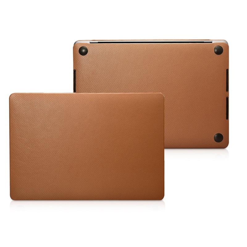 Ordinateur Portable En Cuir véritable étui pour Macbook Pro 13 2019 2018 A2159 A1706 A1708 Vachette Housse pour Macbook Pro 15 A1707 A1990