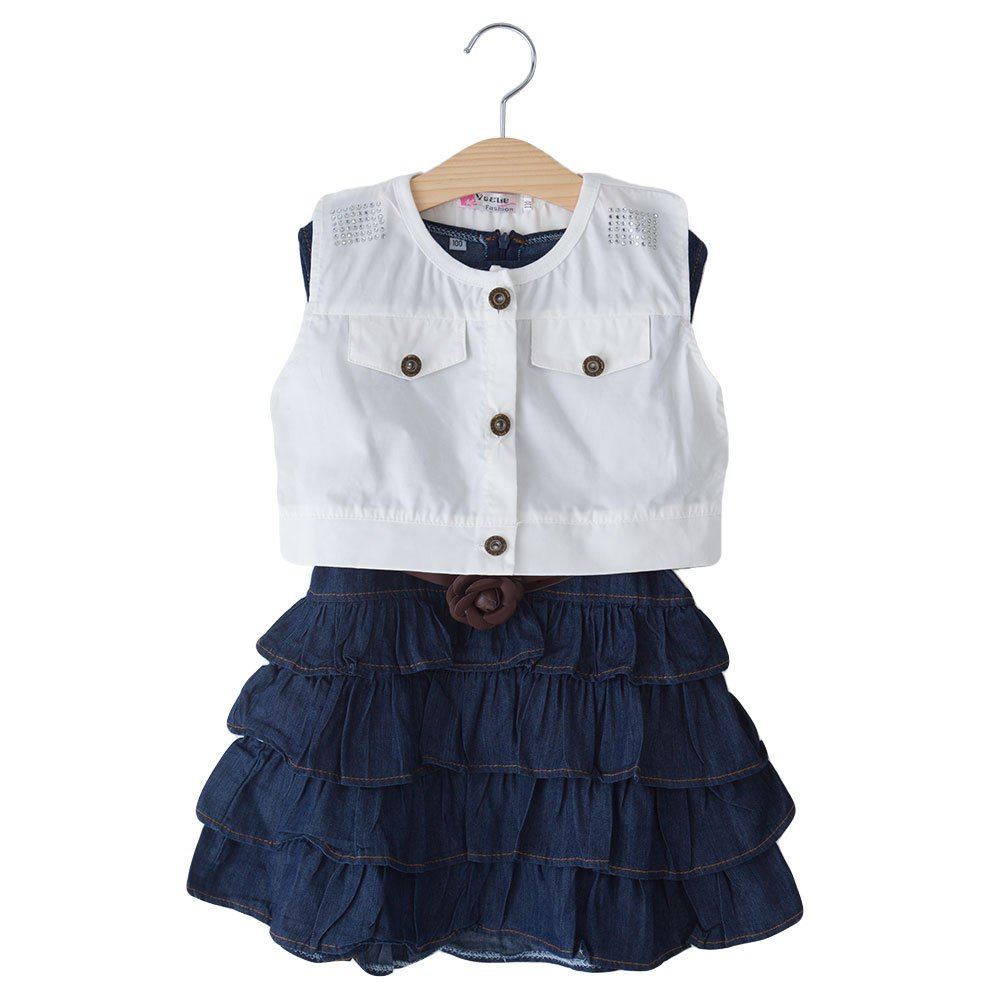 Popular Denim Dress Girls-Buy Cheap Denim Dress Girls lots from ...
