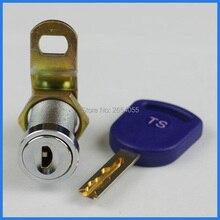 5 шт. 27 мм Высокая безопасность хромированный цилиндрический замок шкафчик с одинаковыми клавишами