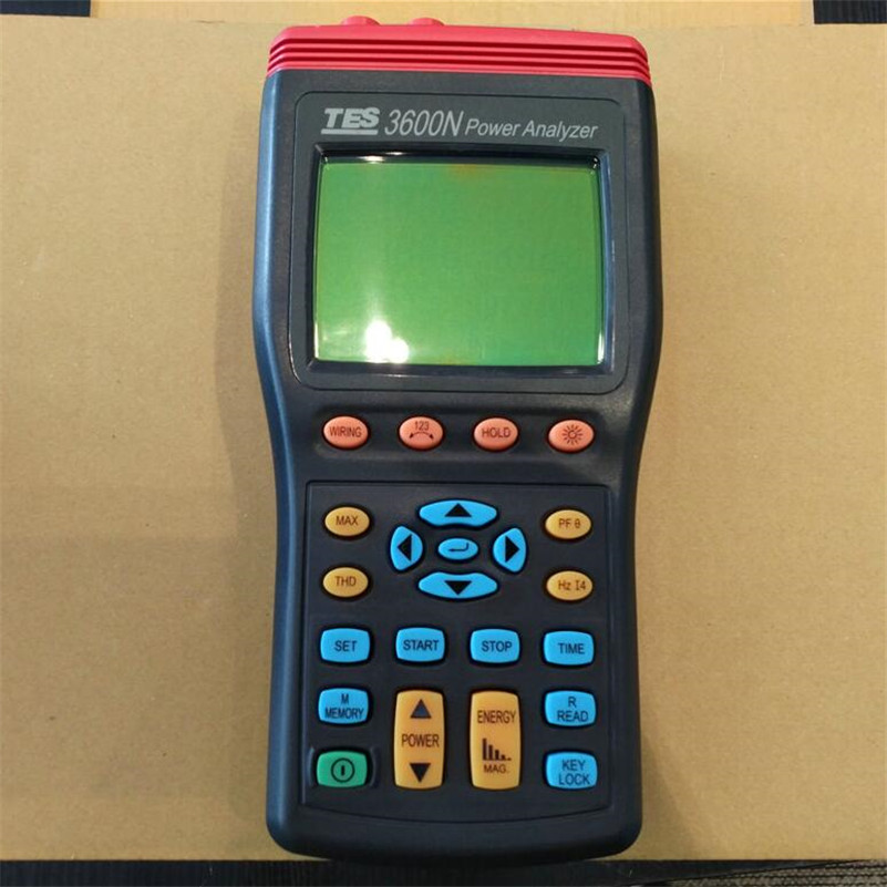 TES 3600N Power Quality Analyzer Harmonics Power Quality Analyzer 3 Phase Power Analyzer|power analyzer|phase|analyzer - title=