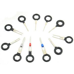 Image 4 - 11Pcs Automotive Stecker Terminal Entfernung Auto Mechanische Tester Schlüssel Pin Anschlüsse Extractor werkzeuge Kit für automotive mechanik