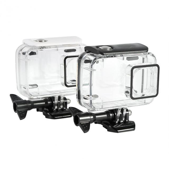 Subaquática 45 m Waterproof Case Habitação de Protecção Para Xiaomi Yi 2 4 k Câmera de Ação