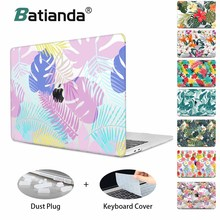 Laptop Case For Apple MacBook Air Pro Retina 11 12 13 15 for mac book New Pro 13 15 2019 with Touch Bar 3D Embossed Flower case цена и фото