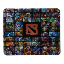Wholesale And Retail Dota 2 Model Mousepad Anti-Slip Laptop computer PC Rubber Mice Mat For Optical Gaming Mouse Pad Lock Edge