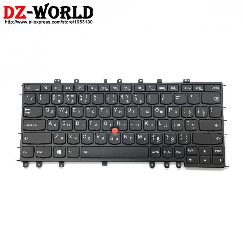 New Original for Thinkpad S1 Yoga Yoga 12 Backlit Keyboard RU Russian Backlight Teclado 04Y2643 04Y2939 SN20A45481 russian new laptop keyboard for samsung np300v5a np305v5a 300v5a ba75 03246c ru layout