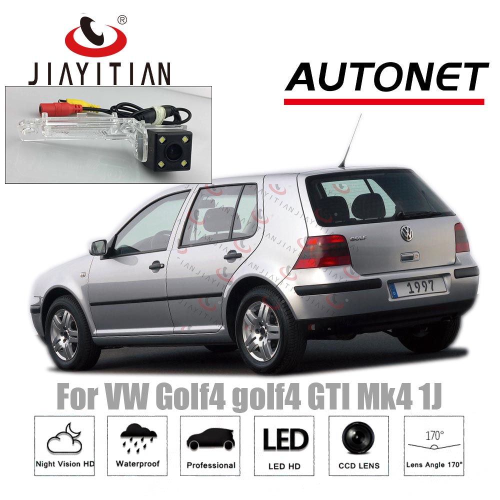 JIAYITIAN Rear Camera For Volkswagen Golf4 Golf-4 Mk4 1J/Night Vision/License Plate Camera/CCD/Reverse Camera Backup Camera