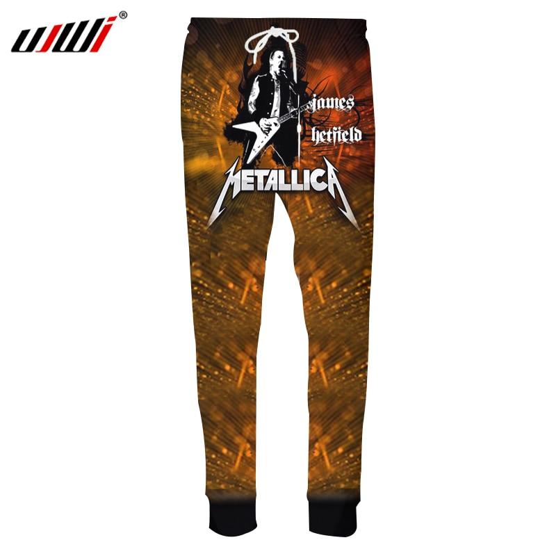 2019 Mode Ujwi Neue 3d Metallica Jogger Unisex Mann Plus Größe 4xl Lose Taschen Casual Hosen Männer Herbst Streetwear Kleidung Dropshipping Elegantes Und Robustes Paket