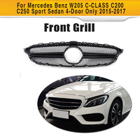 ABS Mesh Car Front Bumper Grill Grille For Mercedes Benz X156 GLA CLASS GLA180 GLA200 GLA250