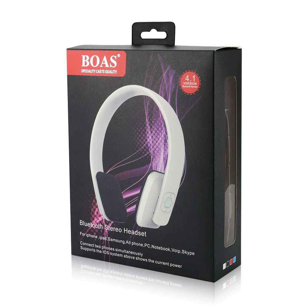 Wireless Stereo Bluetooth Headphones Support Connecting Two