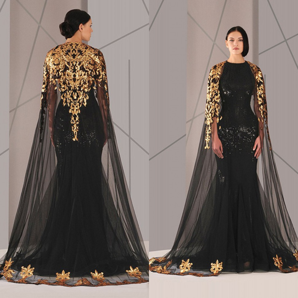 Gold and Black Lace Prom Dress - Gold And Black Lace Prom Dress Dress Images