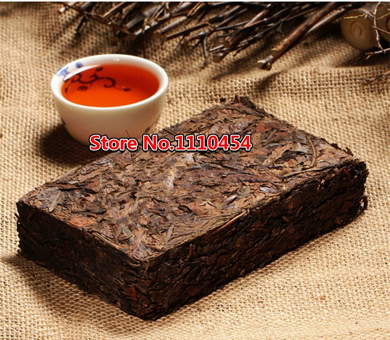 Made In1970 Ripe Pu er Tea 250g Oldest Shu Puer Tea Ancestor Antique Honey Sweet Dull-red Puerh Tea Ancient Tree Pu'er Tea Brick