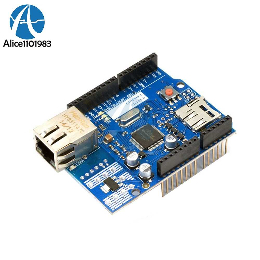 W5100 Mega 2560 Mega2560 Lan Ethernet R3 Shield Module Micro SD WizNet  TCP/IP Network Development Board For Arduino UNO Duem