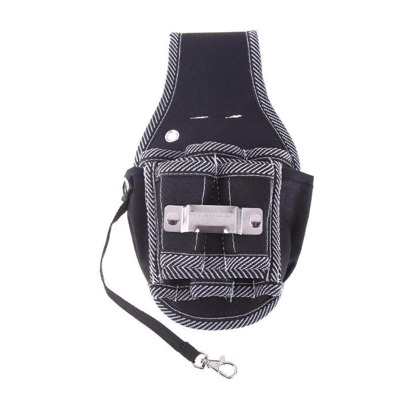Multifunction Hardware Mechanics Canvas Tool Bag Electrician Canvas Tool Bag Belt Utility Kit Pocket Pouch Organizer Bag