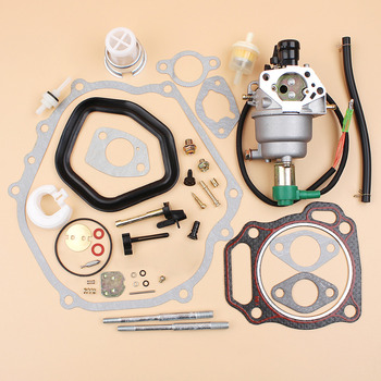цена на Carburetor Solenoid Gasket Bolt Repair Kit For Honda GX390 GX340 GX 340 390 Chinese 188F 190F 8HP-13HP Motor Engine Generator