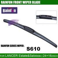 RAINFUN Dedicated Car Wiper Blade For MITSUBISHI LANCER Natural Rubber Car Wiper Auto Windshield Wiper 2
