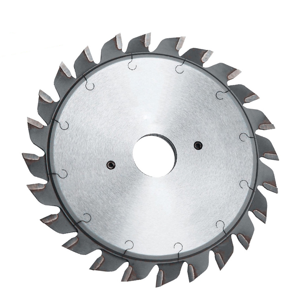 LIVITER Split Scoring Saw Blades  120 Dia 20 Bore 2.8 - 3.6 2.2 Kerf 2 X 12T