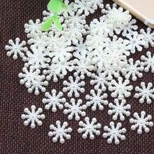 14/15 мм имитация снега поделки из жемчуга abs бежевый белый