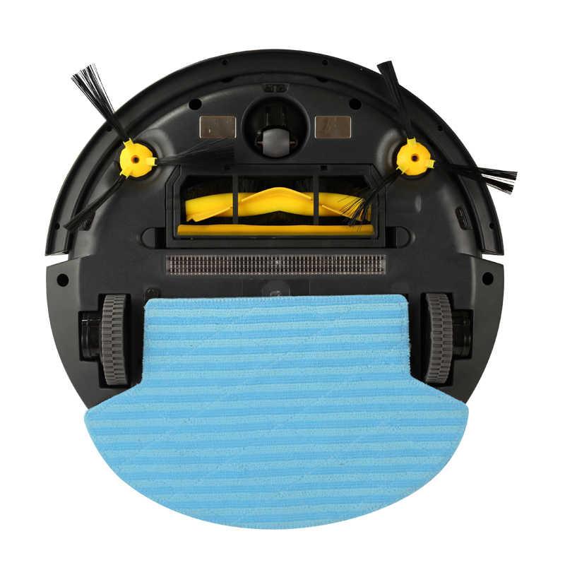 LIECTROUX B6009 Робот Пылесос wifi гироскоп Навигация картография влажная и сухая уборка Бак Для Воды,батарея литиевая,с танком для воды сенсорный экран, фильтр HEPA,моющий,авто подзарядка для дома щетка мощность