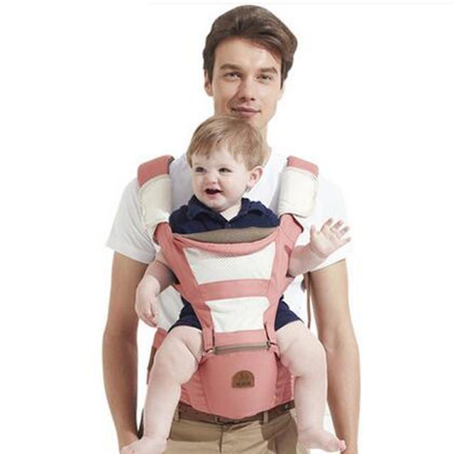 Mochila Estilingue do bebê Algodão Orgânico Ergonômico Ajustável Portador de Bebê Sling Atividade Engrenagem Portátil Multifuncional Carrinho de Criança