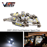 VMAX 8pcs Bright White LED Interior Light Package For 2007 2010 Ford Explorer Sport Trac Car