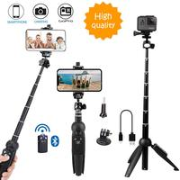 Portable Camera Table Top Self Tripod For Samsung S10 + X For Huawei P10 Plus Android Phones/Selfie Stick Tripod Monopod kits