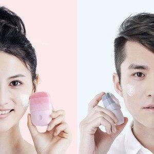 Image 4 - Youpin InFaceไฟฟ้าทำความสะอาดใบหน้าแปรงนวดSonic Faceซักผ้าIPX7กันน้ำซิลิโคนFace Cleanser