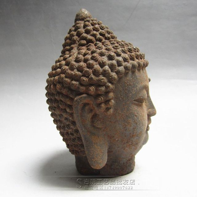 US $54 97 |Factory direct sale antique wholesale collection religious  temple Buddha statue ornaments Sakyamuni Buddha Buddha statue-in Statues &