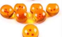 Dragon Ball Z 4.5 см Размер Новый DragonBall 7 Звезд Хрустальный шар набор 7 шт. Dragon Ball Z Мячи полный набор оптовая продажа mty314