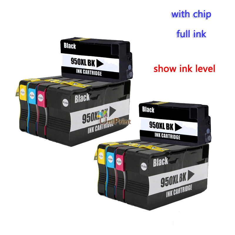 UP brand 10PK Compatible Ink Cartridge for HP 950 951 Officejet Pro 8100 8600 8630 8610 8620 8680 8615 8625 Printer with chip