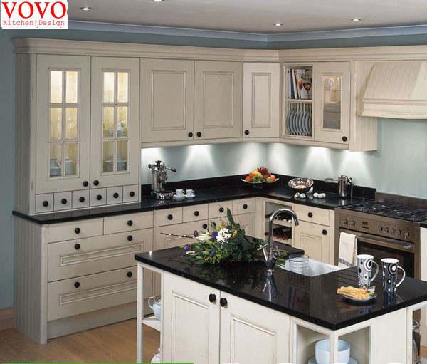 US $4500.0 |Stile americano in legno massello cucina design del cabinet-in  Mobili da cucina da Miglioramento della casa su AliExpress