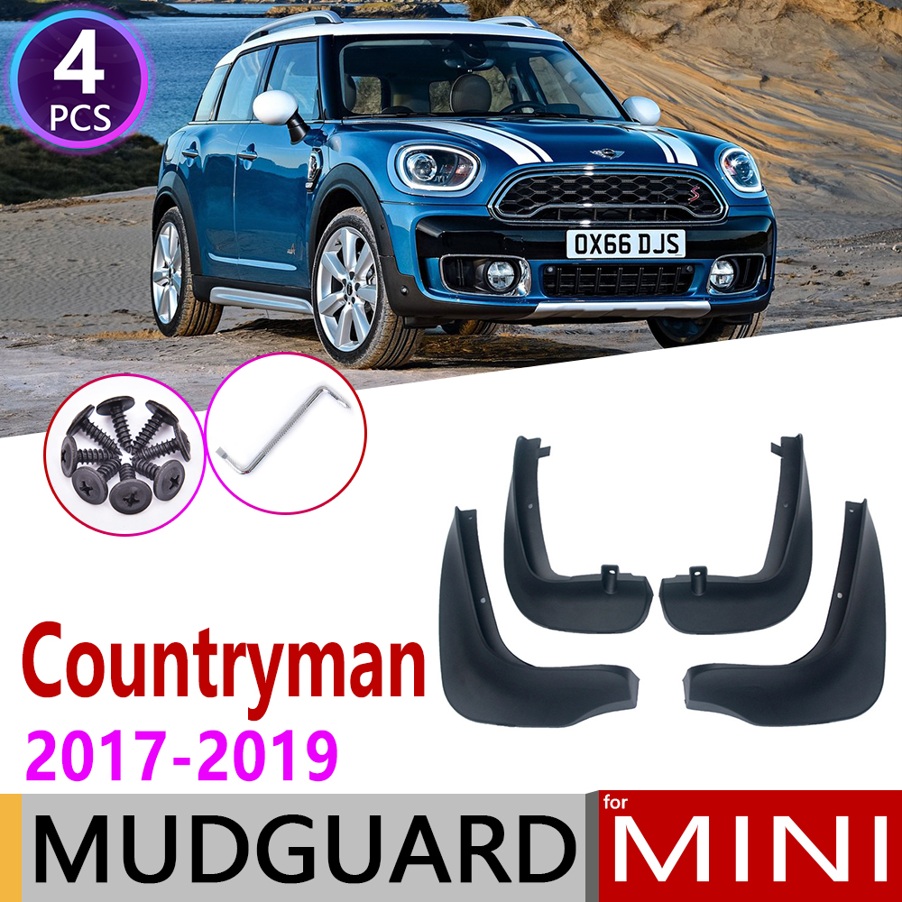 A-Premium Mud Flaps Splash Guards for Mini F60 Cooper Countryman 2017-2019 Front and Rear 4-PC