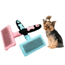2019 Pet Automatic Hair Removal Comb Dog Special Needle For Teddy Medium Large Brush Supplies