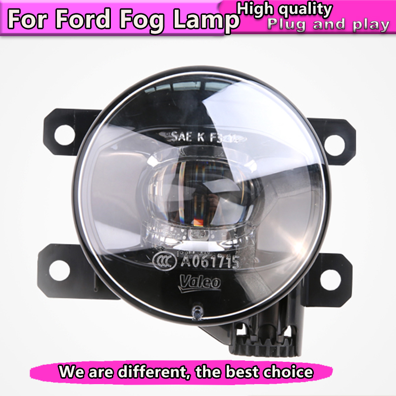 Car Styling NEW LED Fog Lamp for Ford focus Fiesta fusion mondeo EcoSport Light Auto Assembly