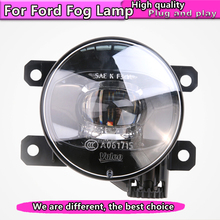 Car Styling NEW LED Fog Lamp for Ford focus Fiesta fusion mondeo EcoSport LED Fog Light Auto Fog Lamp Assembly цена 2017