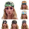 Sapatas do Esporte das mulheres Elastic Tafilete Headband Boho Hairband Acessório 09WG
