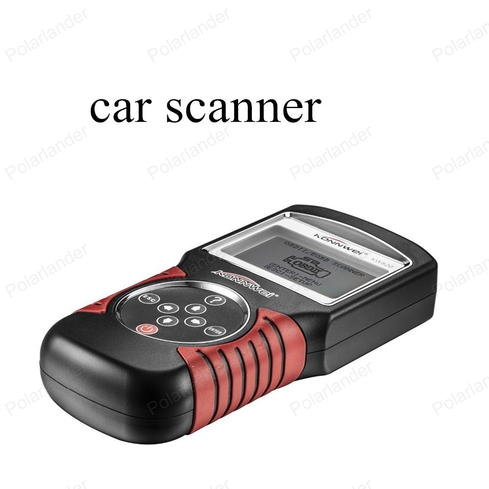 ФОТО  best selling  KW820 Fault Reader CAN OBD2 Engine Managment Works For US/Asian/European Vehicles Code Scanner