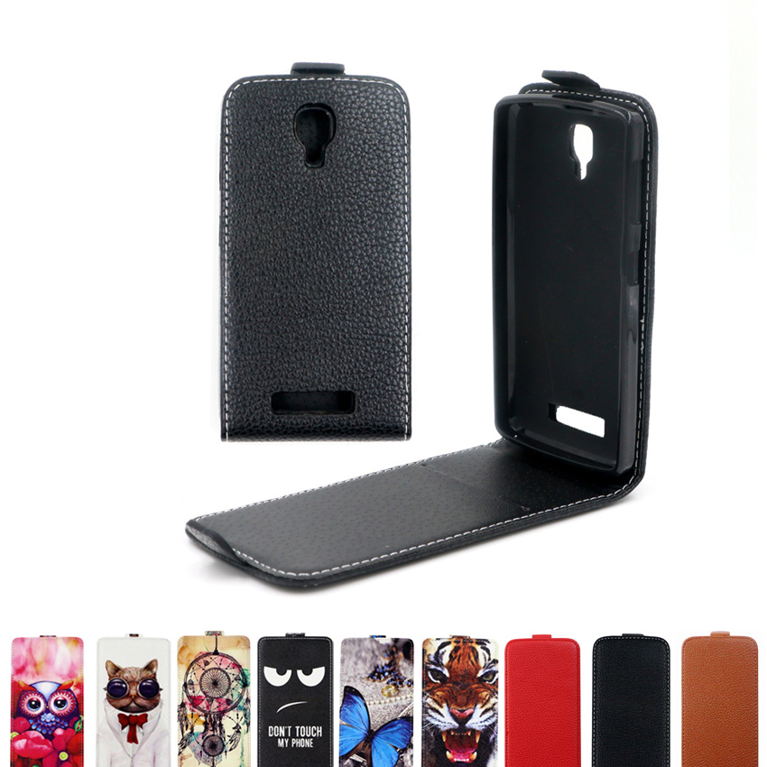 Case For Lenovo Flip With TPU Cover Vertical-Cover-Bag Flip-Up-And-Down Luxury