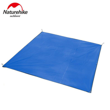 NH3-4 people outdoor tent camping ground cloth sun shade awning foldable beach mat picnic marquee