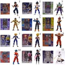 12 Styles Anime Dragon ball Z SHF Figuarts Son Goku Trunks Frieza Vegeta Krillin Zamasu Piccolo PVC Action Figure Model DIY Toy 100% original bandai tamashii nations s h figuarts shf action figure battle droid geonosis color from sw