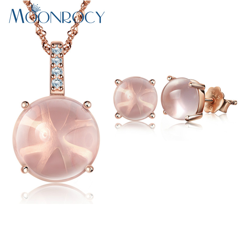 Fashion Silver snails pink Artificial Opal Pendant Necklace Wedding Jewelry Gift