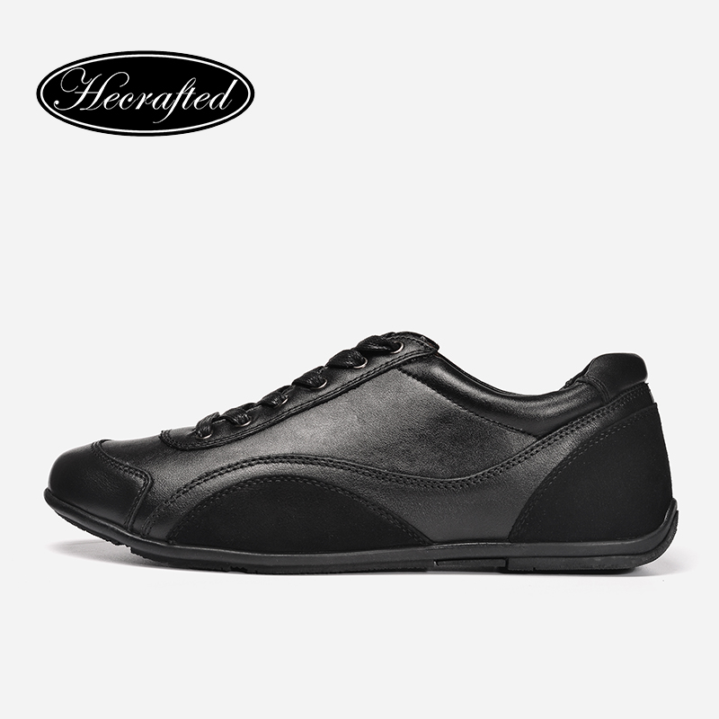Size 36~48 Full Grain Leather Men Shoes Genuine Leather Top quality Original Hecrafted Brand Autumn Casual Men Shoes #1618 big size 48 men flats shoes full grain leather shoes men shoes luxury brand black zapatos hombre sapatos masculino