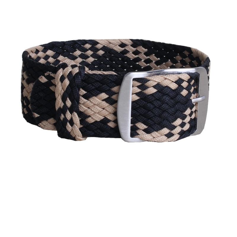 1 PCS / Wholesale Fashion Men and women 20mm 22mm NATO nylon WATCHBAND waterproof nylon perlon watch strap