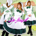 Hot Sale! APH Axis Powers Hetalia Maid Dress Hungary Cosplay Costume Customized Size